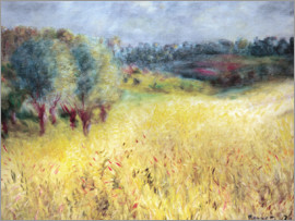 Pierre-Auguste Renoir - The cornfield