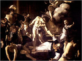 Michelangelo Merisi (Caravaggio) - The Martyrdom of Saint Matthew