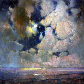 Soren Emil Carlsen - The sea at sunrise
