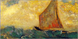 Odilon Redon - The Mystical Boat