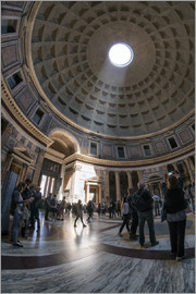 Jan Christopher Becke - The Pantheon in Rome, Italy