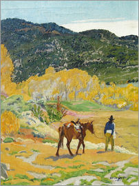 Walter Ufer - The horse