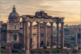 The Roman Forum at sunrise