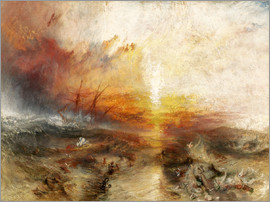 Joseph Mallord William Turner - The slave ship