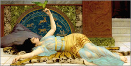 John William Godward - The sweet idleness (Dolce Far Niente)