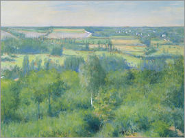 Gustave Caillebotte - The valley of Yerres