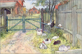 Carl Larsson - The Gate
