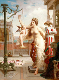 Henri Pierre Picou - Weighing Cupid
