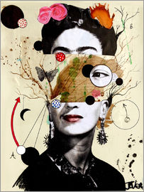 Loui Jover - Frida desconfigurada