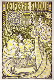 Jan Toorop - Delftsche Slaolie, salad oil