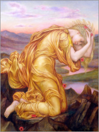 Evelyn De Morgan - Demeter Mourning for Persephone, 1906