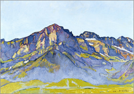 Ferdinand Hodler - Dents Blanches near Champéry