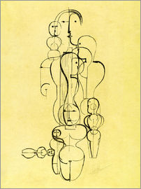 Oskar Schlemmer - The Abstract
