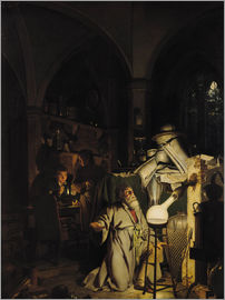 Joseph Wright of Derby - The Alchymist