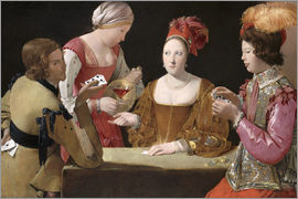 Georges de la Tour - The Cheat with the Ace of Diamonds