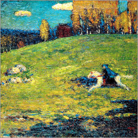 Wassily Kandinsky - The blue Rider