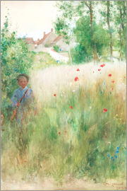 Carl Larsson - The flower garden