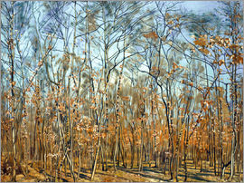 Ferdinand Hodler - The beech forest