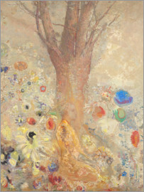Odilon Redon - The Buddha