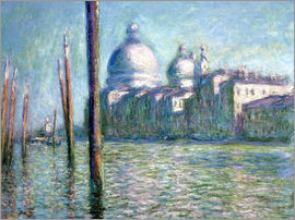Claude Monet - The Grand Canal