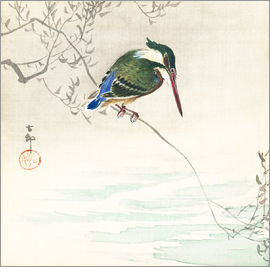 Ohara Koson - The kingfisher