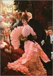 James  Tissot - The Reception