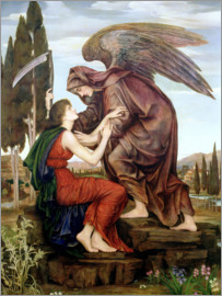 Evelyn De Morgan - The Angel of Death, 1890