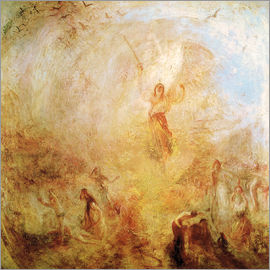 Joseph Mallord William Turner - Angel in front of the sun. 1846