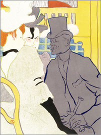 Henri de Toulouse-Lautrec - The Englishman at the cabaret