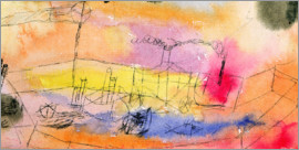 Paul Klee - The Fish in the Harbour, 1916