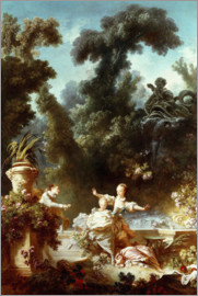 Jean-Honoré Fragonard - The progress of love