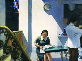 Edward Hopper - The Barber Shop