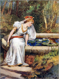 William Henry Margetson - The Frog Prince