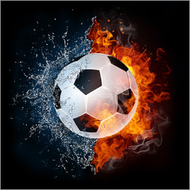 Football in the battle of the elements
