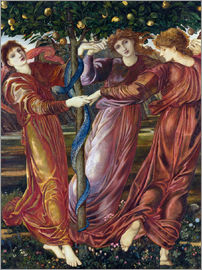Edward Burne-Jones - Garden of the Hesperides