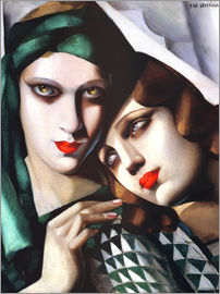 Tamara de Lempicka - The green turban