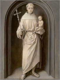 Hans Memling - Saint Anthony of Padua