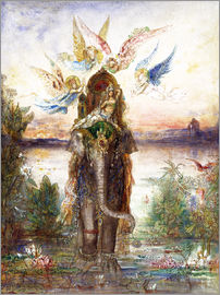 Gustave Moreau - The sacred elephant