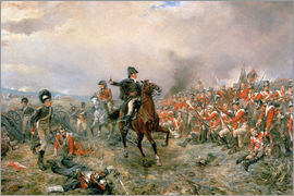 Robert Alexander Hillingford - The Duke of Wellington at Waterloo