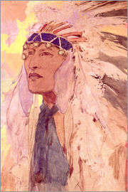 Alfons Mucha - The Indian