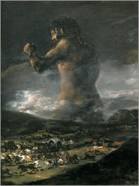 Francisco José de Goya - The Colossus