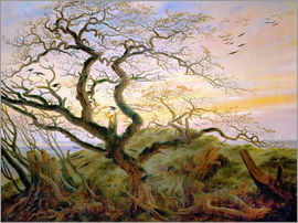 Caspar David Friedrich - The Tree of Crows