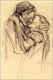 Käthe Kollwitz - The kiss