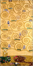 Gustav Klimt - The Tree of Life (left outer panel)