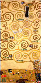 Gustav Klimt - The Tree of Life (left inner panel)