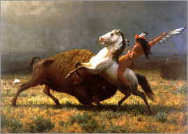 Albert Bierstadt - The Last of the Buffalos