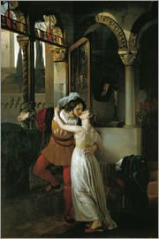 Francesco Hayez - The Last Kiss of Romeo and Juliet