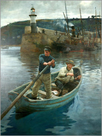 Stanhope Alexander Forbes - The Lighthouse