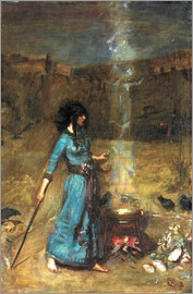 John William Waterhouse - The Magic Circle