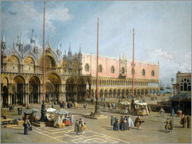 Antonio Canaletto - The Square of Saint Mark's
